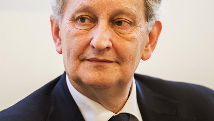 De Amsterdamse burgemeester Eberhard van der laan.