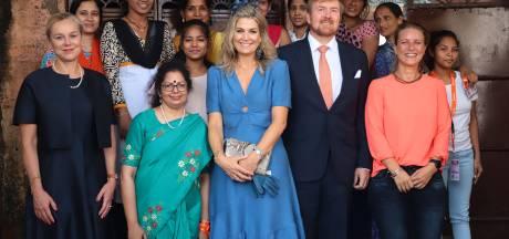 Koning bedankt Nederlanders in India op bijzondere plek