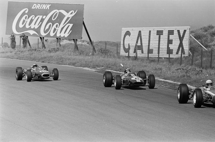 De GP van Zandvoort in 1966.