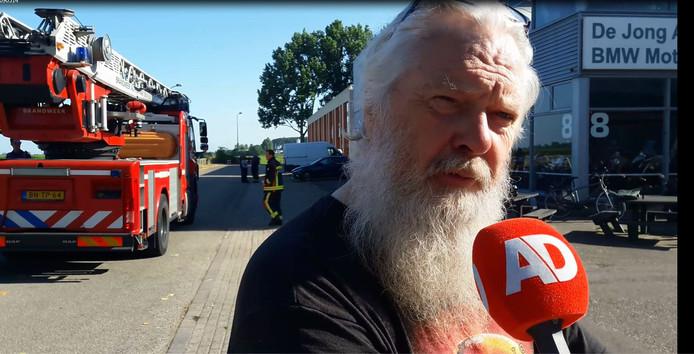 Gerjo de Jong van De Jong Motorzaak in Alphen.