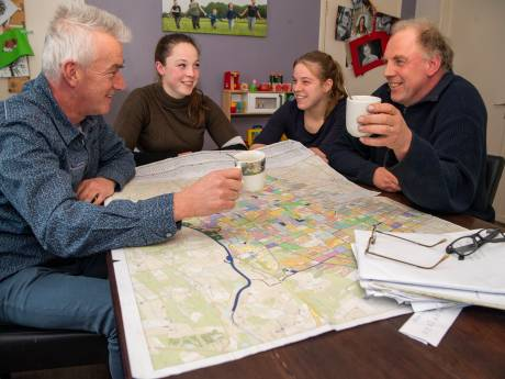 Vrijwillige kavelruil in Ommen en Dalfsen: met liters koffie bereik je een hoop