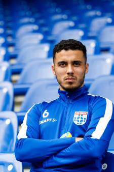 Mustafa Saymak op de weg terug naar PEC Zwolle