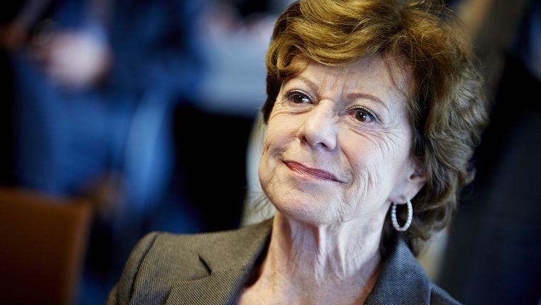 Voormalig Eurocommissaris Neelie Kroes. Beeld anp