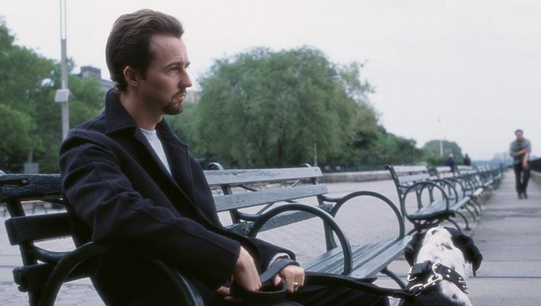 Edward Norton in 25th hour. Beeld null