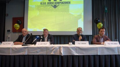 """Lierse Kempenzonen start voorzichtig ambitieus: """"We willen hogerop, maar gooien niet met geld"""""""