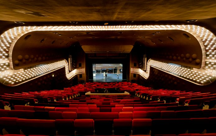 Het oude Luxor Theater in Rotterdam.