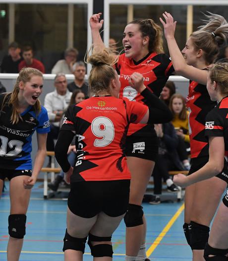 Activia promoveert door 'coronaregeling' volleybalbond naar topdivisie