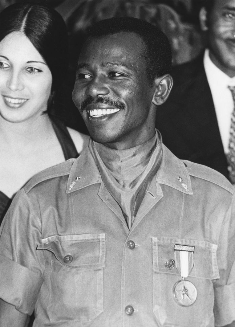 Oud-dictator Haile Mariam Mengistu in 1978. Beeld ANP