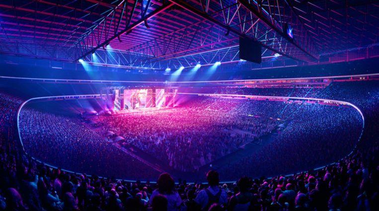 Het nieuwe stadion wordt multifunctioneel