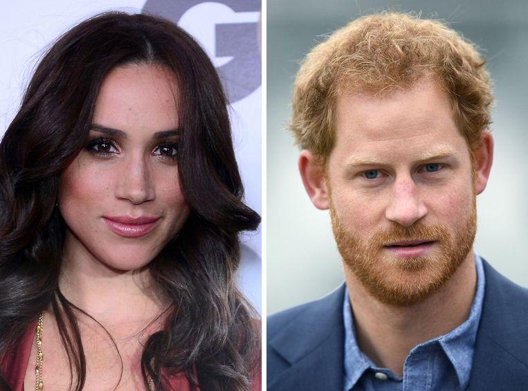 Twee weken geleden werd bekend dat de prins al maanden een verhouding heeft met 35-jarige actrice, bekend als Rachel uit de advocatenserie Suits. Beeld afp