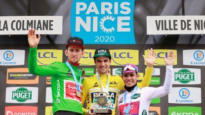 Schachmann wint Parijs-Nice voor Benoot, Quintana fladdert naar zege in slotrit