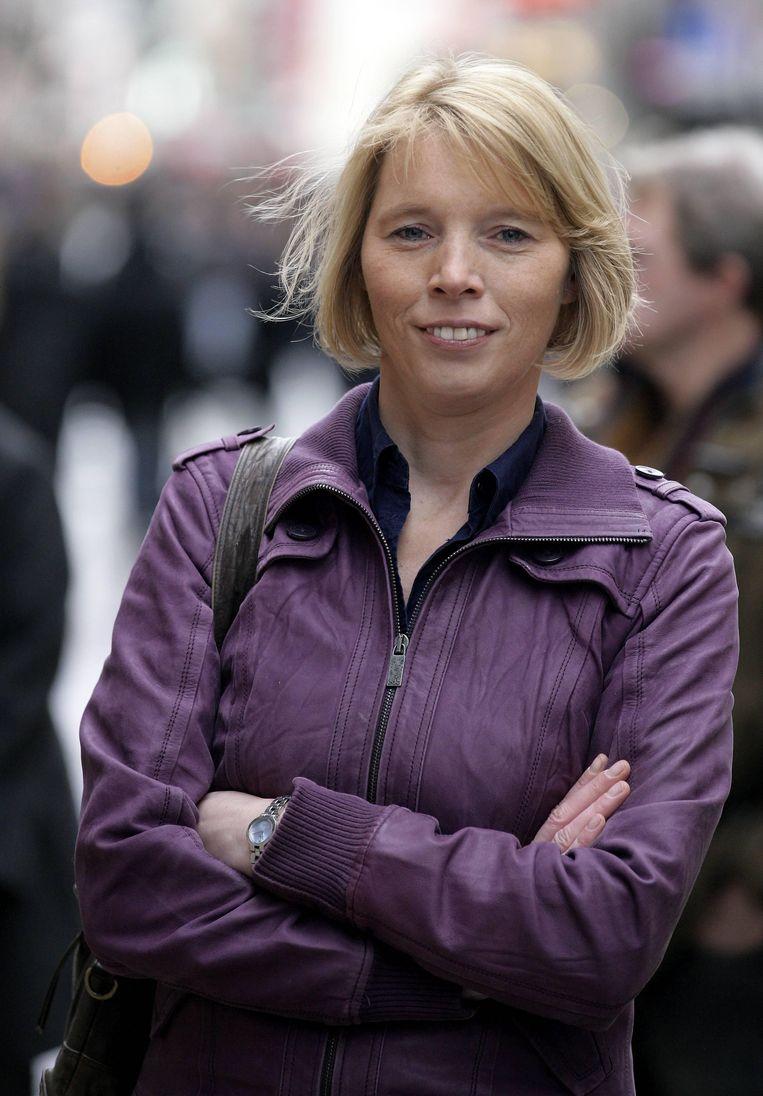 NSZ-voorzitter Christine Mattheeuws.