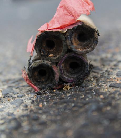 Tiener opgepakt voor afsteken en verkopen illegaal vuurwerk