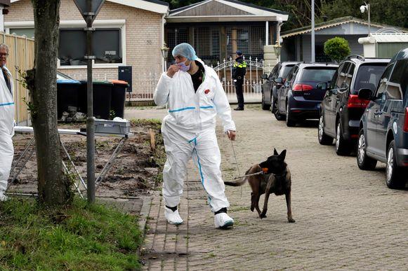 De Nederlandse politie deed vorige maand onderzoek in een vakantiepark in Steenbergen maar het stoffelijke overschot van Johan Van der Heyden is onvindbaar