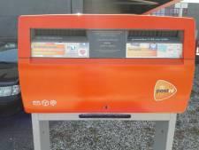 Een zesde van de Noord-Veluwse brievenbussen verdwijnt