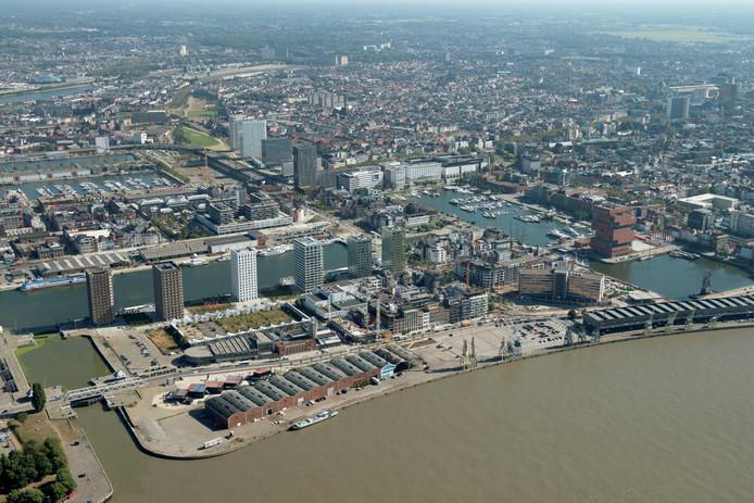 Het Eilandje in Antwerpen.