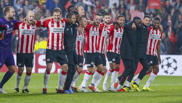 PSV bereikte vorige week de Champions League-groepsfase door winst op BATE Borisov.