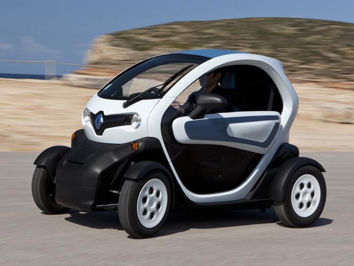 De elektrische Renault Twizy is niet het gehoopte succesnummer