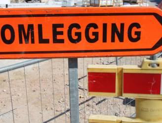 Honegemstraat afgesloten tussen Ter Vaerent en Adelante