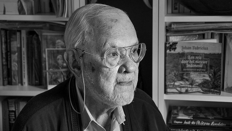 Hans Beynon overleed op 4 november op 89-jarige leeftijd. Beeld Gerry van den Berg