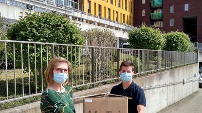 Rubix Waregem schenkt 2.000 mondmaskers aan rusthuis De Meers
