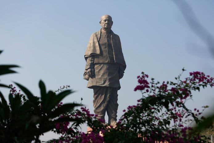 Het standbeeld van Sardar Vallabhbhai Patel.