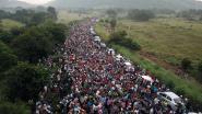 Nieuwe migrantenkaravaan richting VS komt in Mexico aan