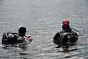 De duikers gaan op pad