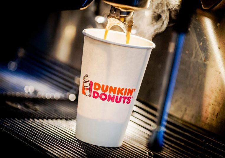 'Coffie to go' bij keten Dunkin' Donuts. Beeld anp
