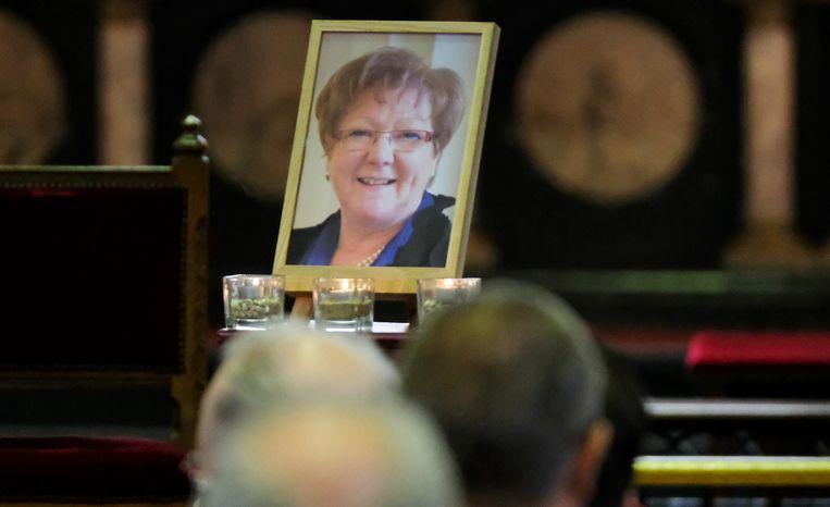 De begrafenis van oud-burgemeester Gerda Mylle werd een pakkend, maar sereen eerbetoon.