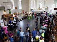 Tevreden gezichten tijdens derde Beursvloer Hof van Twente