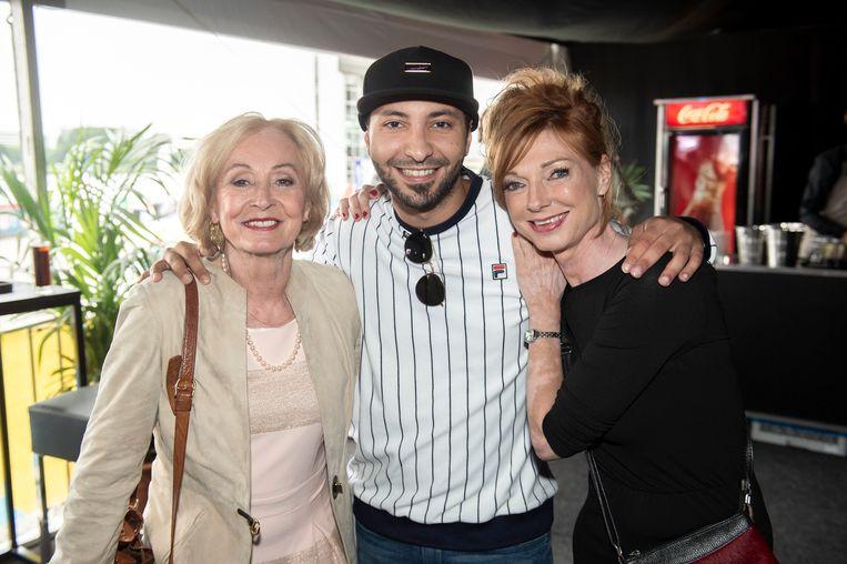 Leah Thys, Nawfel Bardad-Daidj en Marleen Merckx.