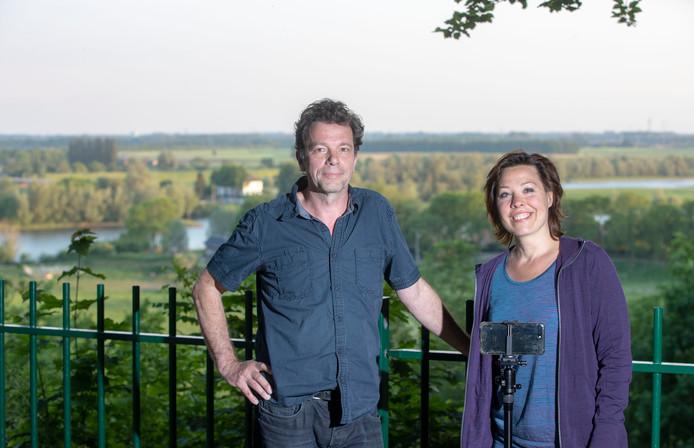 Wim de Vos en Ilona Bongers.