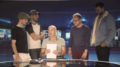 De boeren op groepsuitstap richting VTM