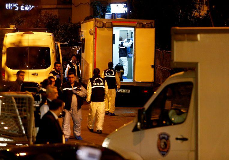 Khashoggi werd in oktober vorig jaar gedood op het Saudische consulaat toen hij daar kwam om iets te regelen voor zijn aanstaande huwelijk. Beeld REUTERS