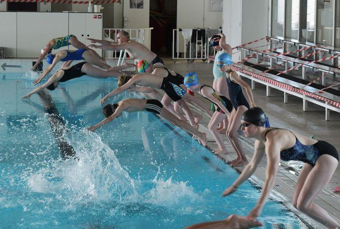 Zwemmers De Meer hebben hun trainingen hervat.
