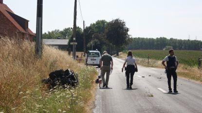 Quadrijder in levensgevaar na ongeval in Wortegem
