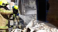 Brandweer rukt uit voor heropflakkering brand bij Lucas Creativ