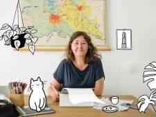 Corine tekent de persconferenties weer: 'Met plezier, maar ik heb liever dat ze niet nodig zijn'
