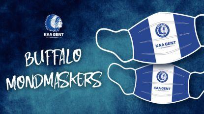 Mondmaskers van KAA Gent scoren meteen: al meer dan 10.000 besteld