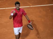 """Djokovic """"pas inquiet"""" d'être de nouveau testé positif au Covid-19"""