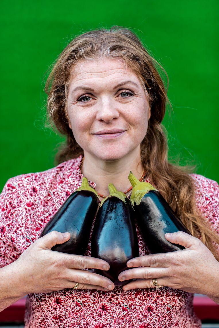 Portret van Esther Erwteman. Beeld Nosh Neneh