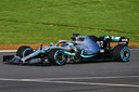 Valtteri Bottas in de Mercedes-AMG F1 W10 EQ Power+