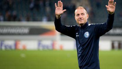 """Gent-coach Thorup: """"Gaven Saint-Étienne de mogelijkheid om terug in de match te komen"""""""