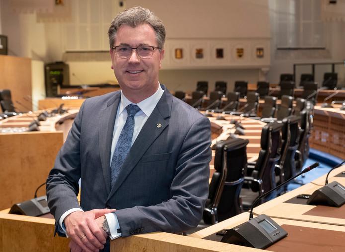 Gedeputeerde Harry van der Maas (SGP, vervoer)