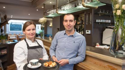 Nieuwe uitbaters Jonas en Sarah breiden Huis van Parma in Oudenaarde uit met tearoom