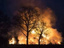 Minder paasvuren vanwege fijnstof? Bouwers in Oost-Nederland peinzen er niet over