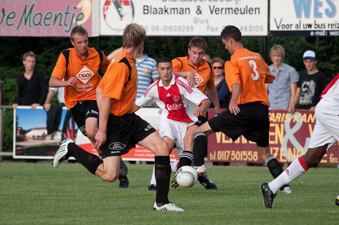 Yener Arica in zijn tijd bij Ajax.