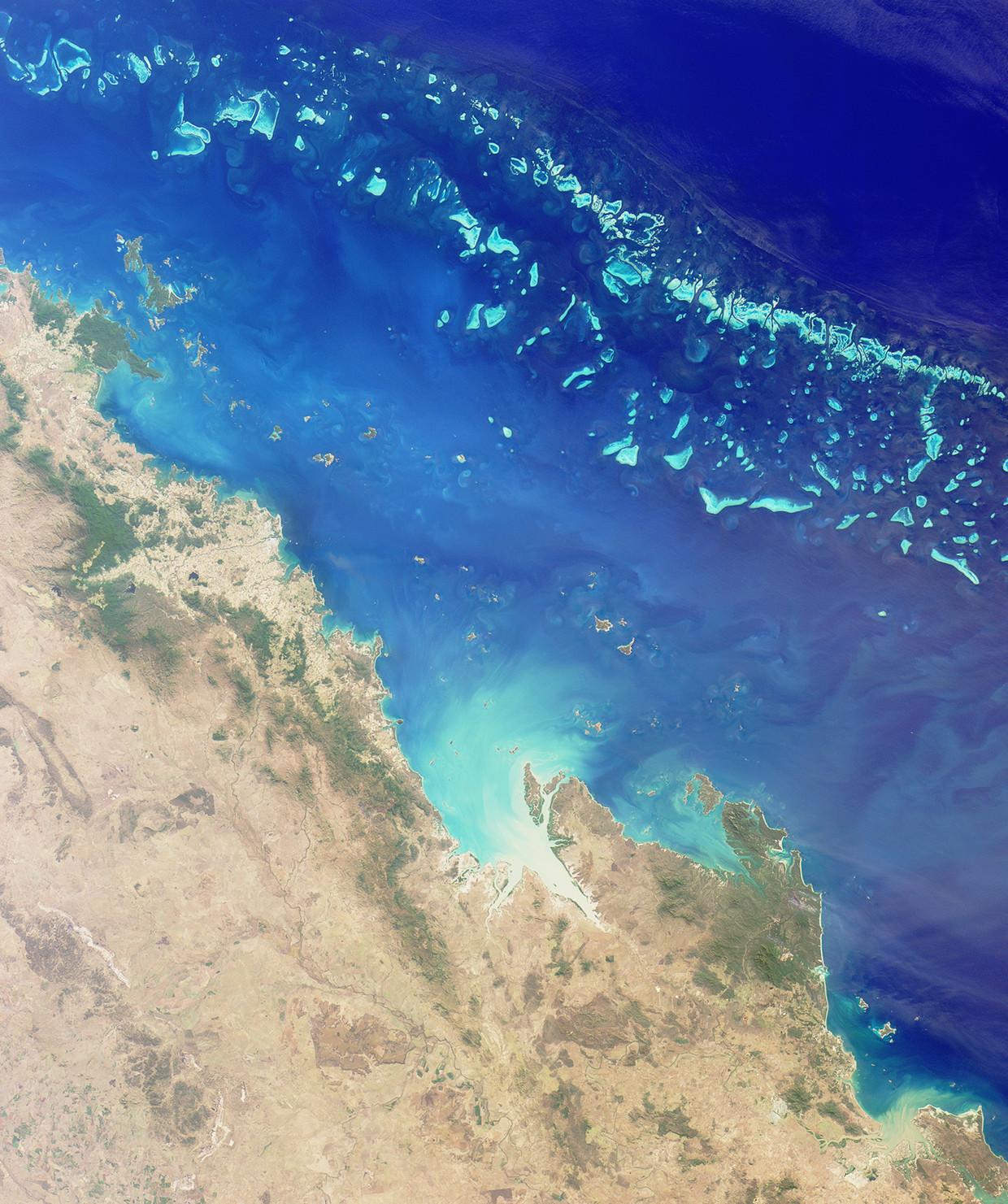 Groot Barrièrerif bij Australië.