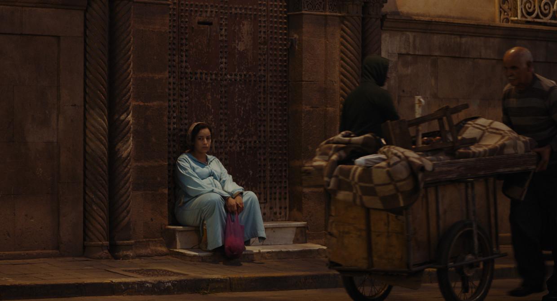 Nisrin Erradi als Samia in Adam. Beeld